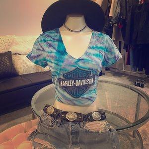 Harley Davidson Tie Dye T-Shirt